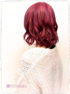 ピンクヘア(╹◡╹)♡
