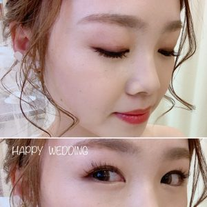 wedding eyelash