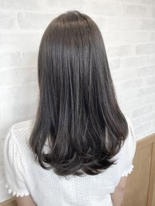 【増田】暗髪も透明感が◎
