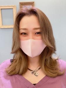 本日の韓国ヘア様(ショコラ店 胸永